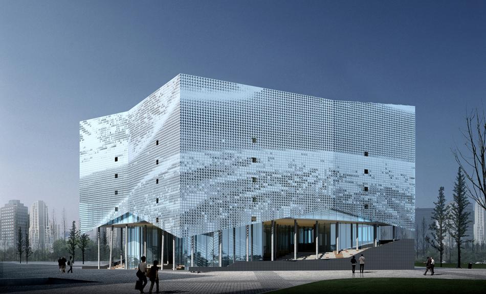 render of the facade
